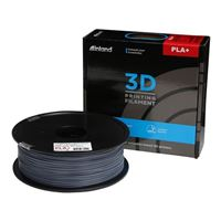 Inland 1.75mm Gray PLA+ 3D Printer Filament - 1kg Spool (2.2 lbs)