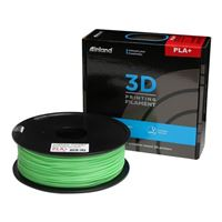Inland 1.75mm Neon Green PLA+ 3D Printer Filament - 1kg Spool (2.2 lbs)