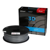 Inland 1.75mm Silver PLA+ 3D Printer Filament - 1kg Spool (2.2 lbs)