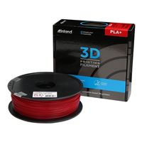 Inland 1.75mm True Red PLA 3D Printer Filament - 1kg Spool (2.2 lbs)