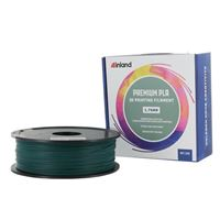 Inland 1.75mm Green PLA+ 3D Printer Filament - 1kg Spool (2.2 lbs)