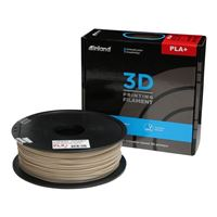 Inland 1.75mm Bone White PLA+ 3D Printer Filament - 1kg Spool (2.2 lbs)