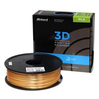Inland eSilk 1.75mm Gold PLA 3D Printer Filament - 1kg Spool (2.2 lbs)