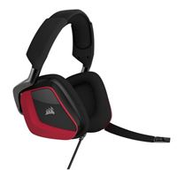 Corsair Void Elite Surround Gaming Headset - Red