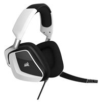 Corsair Void RGB Elite USB Premium Gaming Headset with 7.1 Surround Sound, White