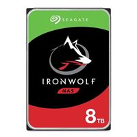 "Seagate Ironwolf 8TB 7200RPM SATA III 6Gb/s 3.5"" Internal NAS..."