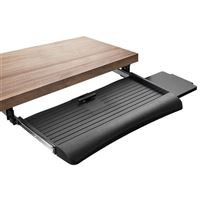 Mount-It! Keyboard Drawer Under Desk with Mouse Platform, Tray 21 Inch Wide
