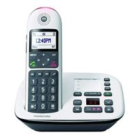 Motorola CD5011 Cordless Telephone with Call Blocking and Digital Answering System