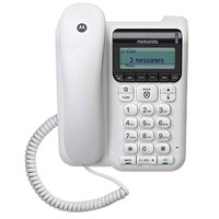 Motorola CT610 Desktop Phone with Advanced Call Blocking and Digital Answering System