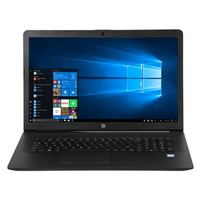 "HP 17-by1033dx 17.3"" Laptop Computer Factory Refurbished - Black"