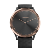 Garmin vivomove HR Smartwatch - Rose Gold/ Black