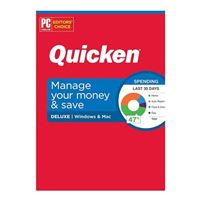 Quicken, Inc. Quicken Deluxe 2020 - 1 Year (PC/Mac)