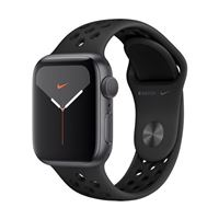 Apple Watch Nike+ GPS/Cellular 40mm Space Gray Aluminum Smartwatch - Black Nike Sport Band