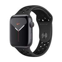 Apple Watch Nike+ GPS/Cellular 44mm Space Gray Aluminum Smartwatch - Black Nike Sport Band