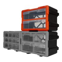 Performance Tools 2-Drawer Interlocking Storage