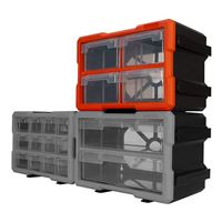Performance Tools 4-Drawer Interlocking Storage