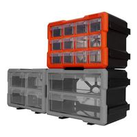 Performance Tools 12-Drawer Interlocking Storage