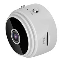 LizaTech Mini Spy Hidden Camera - White