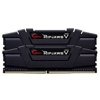 G.Skill Ripjaws V 16GB (2 x 8GB) DDR4-3600 PC4-28800 CL16 Dual Channel Desktop Memory Kit F4-3600C16D-16GVKC - Black