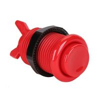 Baolian Concave Button - Red