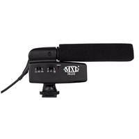 MXL FR-310 Hot Shoe Shotgun Condenser Microphone - Black