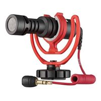 Rode Microphones VideoMicro Ultracompact Shotgun Condenser Microphone - Black