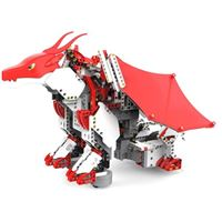 UBTECH JIMU Robot Mythical Series: FireBot Kit / App-Enabled Building and Coding STEM Kit