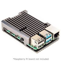 Pimoroni Aluminium Heatsink Case for Raspberry Pi 4