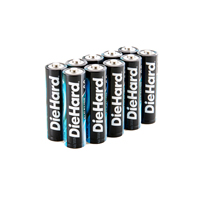 Dorcy DieHard AA Alkaline Battery - 10 pack