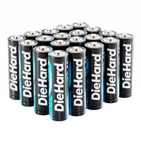 Dorcy DieHard AA Alkaline Battery - 20 pack