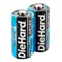 Dorcy DieHard CR123 Lithium Battery - 2 pack