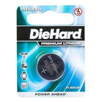 Dorcy DieHard CR2450 Lithium ion Button Cell Battery - 1 pack