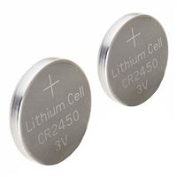 Dorcy DieHard CR2450 Lithium ion Button Cell Battery - 2 pack