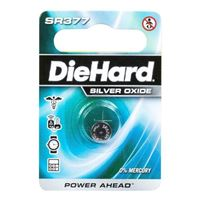 Dorcy DieHard SR377 Silver Oxide Button Cell Battery - 1 pack