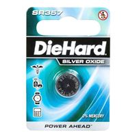 Dorcy DieHard SR357 1.5 Volt Silver Oxide Button Cell Battery - 1 Pack