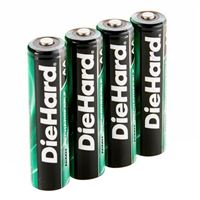 Dorcy DieHard AA NiMH Rechargeable Batteries 2000Ma - 4 Pack