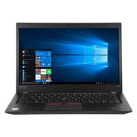"Lenovo ThinkPad T490s 14"" Laptop Computer - Black"