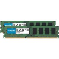 Crucial 16GB (2 x 8GB) DDR3-1600 PC3-12800 CL11 Dual Channel...