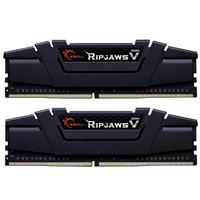 G.Skill Ripjaws V 32GB (2 x 16GB) DDR4-3600 PC4-28800 CL16 Dual Channel Desktop Memory Kit F4-3600C16D-32GVKC - Black