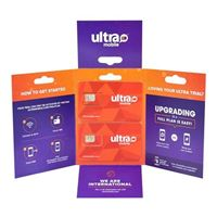 Jeg & Sons Ultra Mobile Trial Plan with (Micro/Mini/Nano) Sim Trial Kit