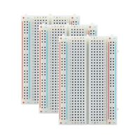 Inland 400 Tie-Points Breadboard - 3 Pack