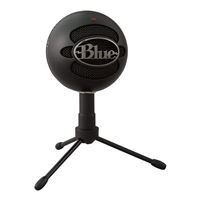 Blue Microphones Snowball Ice USB condenser Microphones - Black