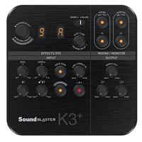 Creative Labs Sound Blaster K3+ USB Powered Recording and Streaming Mixer