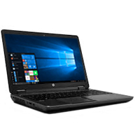 "HP ZBook 14 G2 Mobile Workstation 14"" Laptop Computer Refurbished - Black"