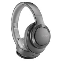Cleer II Bluetooth Wireless Headphones, Hybrid Noise-Cancelling, Google Assistant, Over-Ear, Auto-Pause - Gunmetal