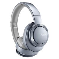 Cleer Flow II Wireless Noise Cancelling Headphones - Silver