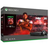 Microsoft Xbox One X 1TB NBA 2K20 Bundle
