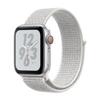 Apple Watch Nike+ GPS 40mm Silver Aluminum Smartwatch - White Nike Sport Loop Band