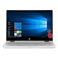 "HP Pavilion x360 Convertible 14-cd1055cl 14"" 2-in-1 Laptop Computer Refurbished - Silver"