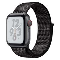 Apple Watch Nike+ GPS/Cellular 40mm Space Gray Aluminum Smartwatch - Black Nike Sport Loop Band